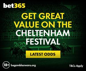 bet365 Cheltenham value