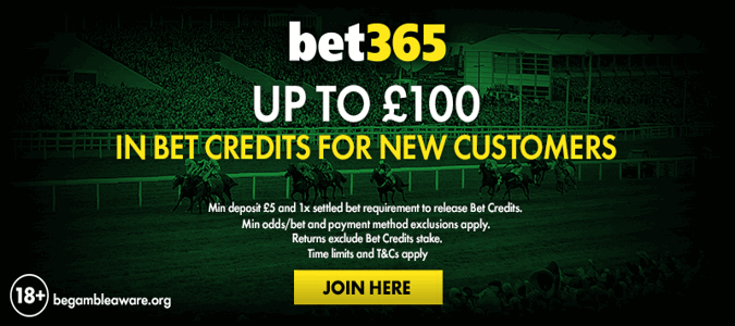 bet365 uk welcome offer, £100 in bet credits