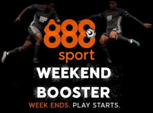 888 Sport Weekend Booster