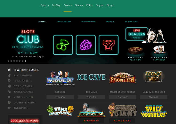 bet365-casino-screenshot