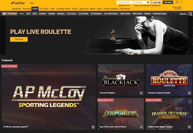 betfair casino free 10
