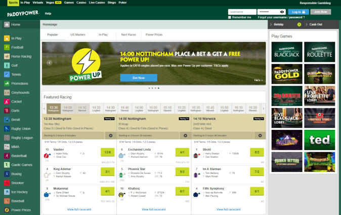 Paddy Power Love Hate Betting Lines - image 6