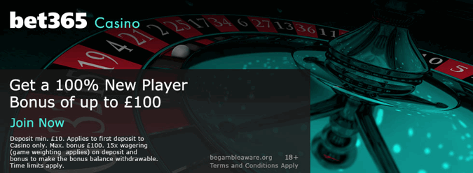 bet365 casino introductory offer for the uk