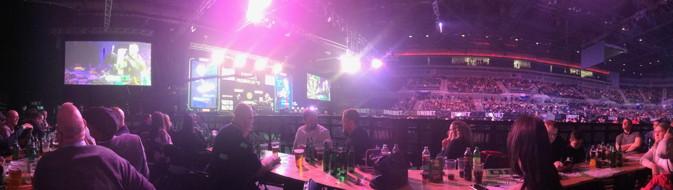 darts premier league in liverpool panoramic
