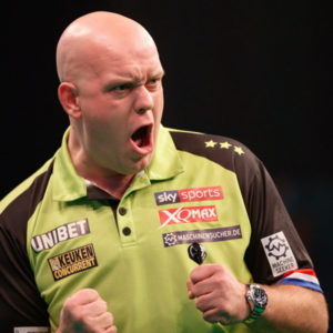 darts premier league michael van gerwen