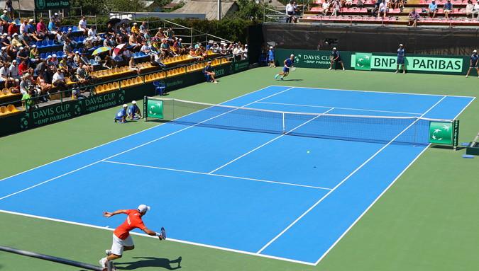 davis cup tennis match