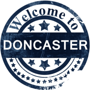 doncaster welcome sign