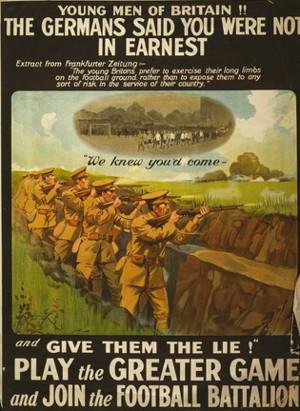 football war poster