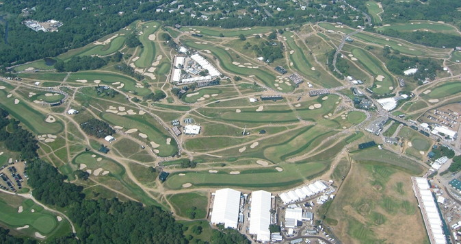 golf us open 2004 course layout at shinnecock hills
