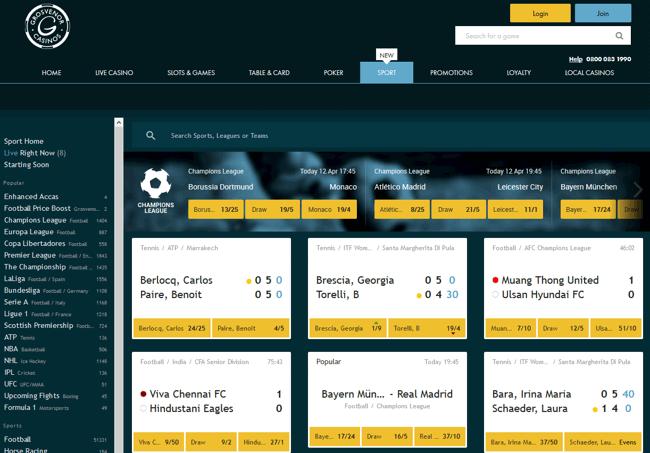 online casino bonus football champions cup