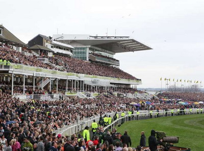 history of the grand national - view of spectators