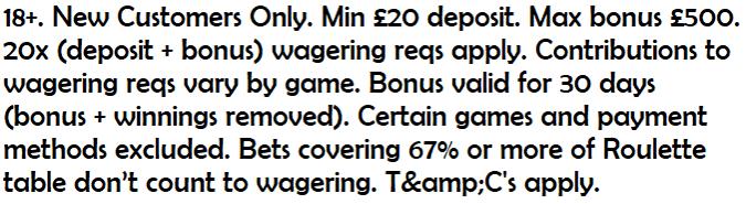 ladbrokes casino main offer compliant text