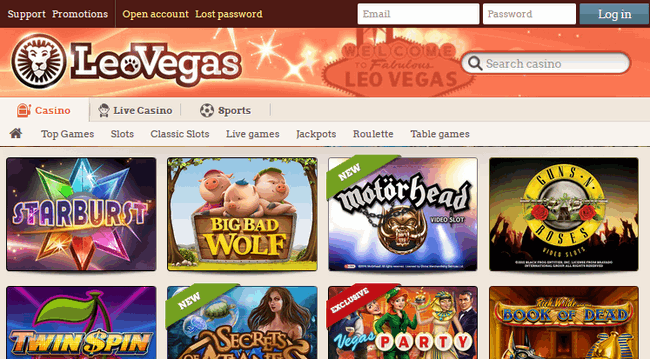leovegas-casino-screenshot