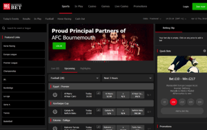 mansionbet home page screenshot