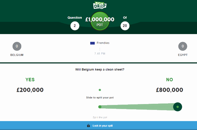 paddy power beat the drop win £1000000 example