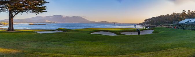 pebble beach links golf course California venue for the 2019 U.S. Open