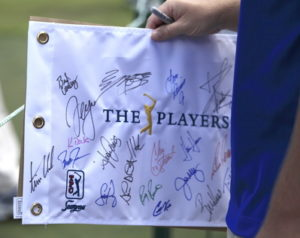 pga tour players autographs