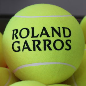 roland garros tennis ball