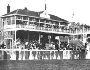 scottish grand national ayr racecourse old image