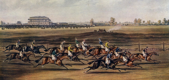 st leger old photo from 1800's