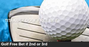 Titanbet Golf Free Bets