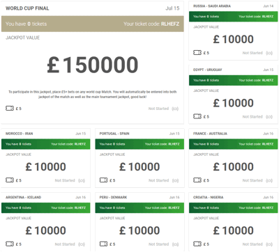 unibet 1000000 world cup jackpot