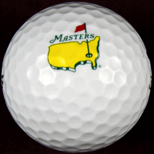 us masters golf ball