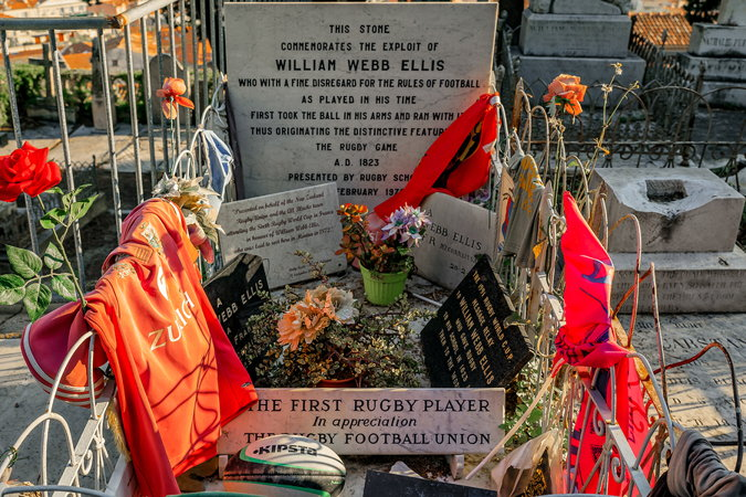 william webb ellis grave and memorial