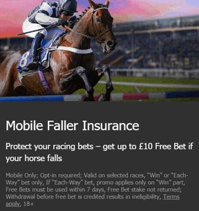 10bet mobile faller insurance