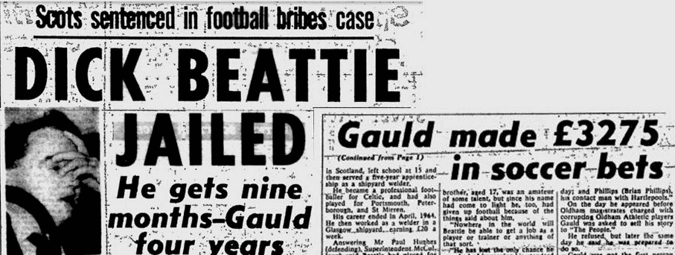 1964 british betting scandal