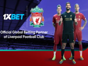 1xbet liverpool betting partner