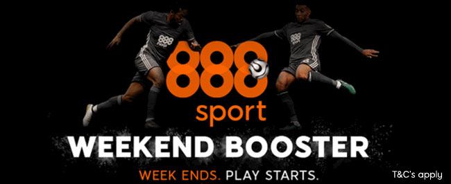 888 weekend booster