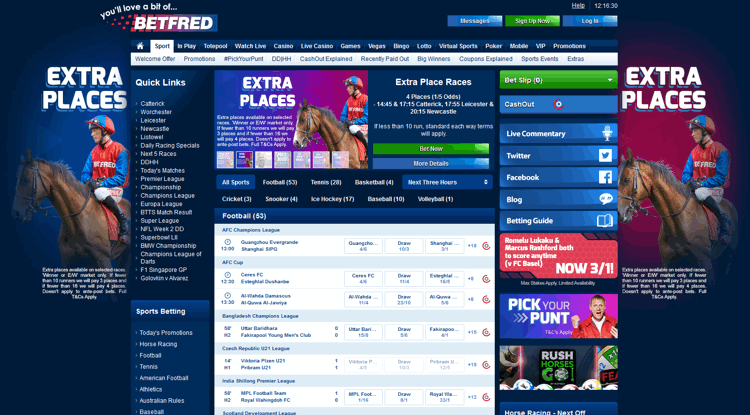 Betfred Review - Bet £10 Get £30 Sports Free Bet & 30 Free