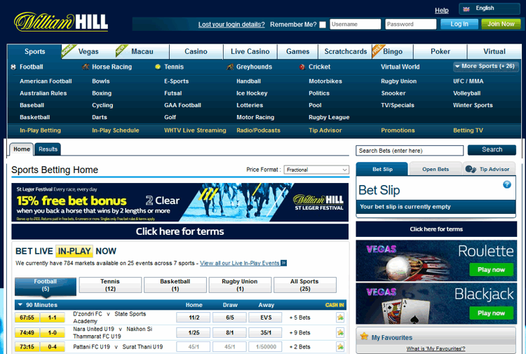 William Hill Review - Bet £10 Get £30 Free (3 x £10 Tokens