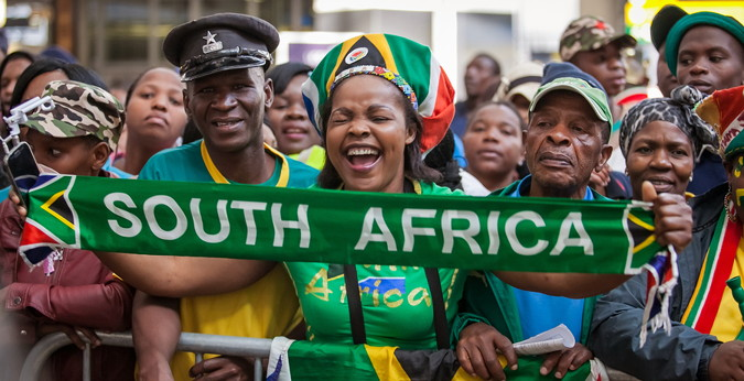 afcon south africa fans