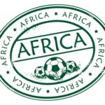 africa football stamp