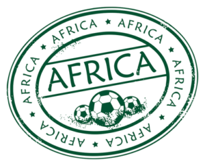 africa football stamp