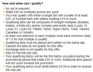 betfair multi bet club terms