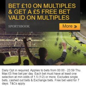 betfair multiples free bet