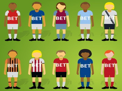 betting logos on football shirts