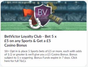 betvictor loyalty club casino