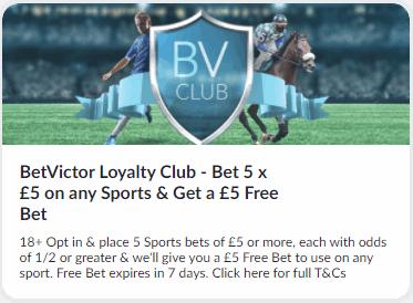 betvictor loyalty club