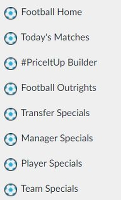BetVictor Quick Links