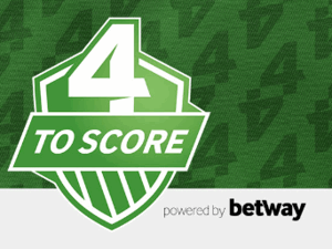 betway 4 to score logo