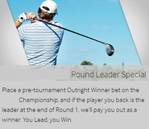 betway golf round leader special