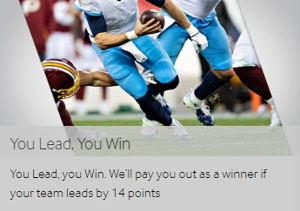 betway nfl you lead you win