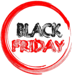 black friday painted sign