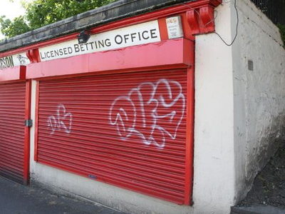 closed betting shop