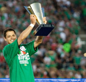 concacaf gold cup Mexico player receives the golden boot