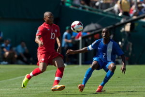 concacaf gold cup match between Canada & Martinique